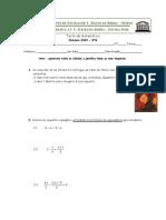 8º ano 1º Teste de Matemática (a,B) (2009) Mdc.Mmc. equações com denominadores e Problemas - Profª Susana Ribeiro