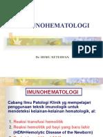 Imunohematologi