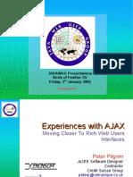 Experiences With AJAX