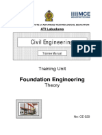 CE020 Foundation Engineering Th Tr