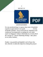 Report Singapore Airlines