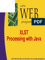 XSLT Processing with Java