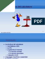 Informatica - Il calcolatore