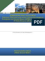 Pembahasan Price Adjustment (UIP X)