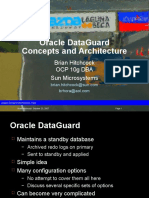 DataGuard Concepts Architecture