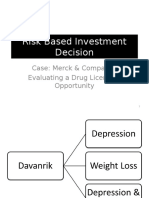 3 Merck & Company - Evaluating a Drug Licensing Opportunity