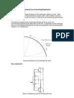 Backward Curved Centrifugal Application
