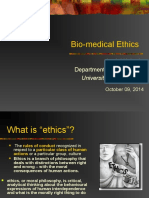 6.Biomedical Ethics College of Health Sciences