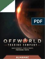 Offworld Trading Company Almanac