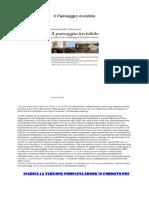 [ SCARICA ] Il Paesaggio Invisibile PDF