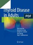 Thyrois Diseases in Adults