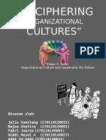 Deciphering Organizational Cultures