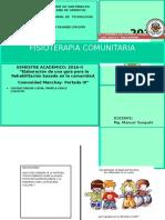 Elaboración de Una Guía Para La Rehabilitación Basada en La Comunidad.