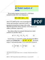 HD 7 Modal Analysis Undamped MDOF