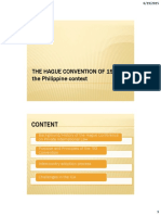 HAGUE CONVENTION of 1993 and the Philippine Intercountry Adoption Process