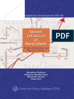 FY2008 Recent Inflation in Bangladesh Trends Determinants and Impact on Poverty