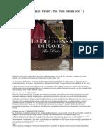 [ SCARICA ] La Duchessa Di Raven (the Ruin Series Vol. 1) PDF