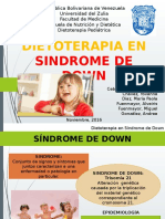 Dieto,Sindrome de Down
