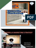 Guerrilla Marketing Strategy