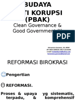 Clean Governance & Good Government I