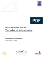 Volonteurope Reviews the Value of Volunteering