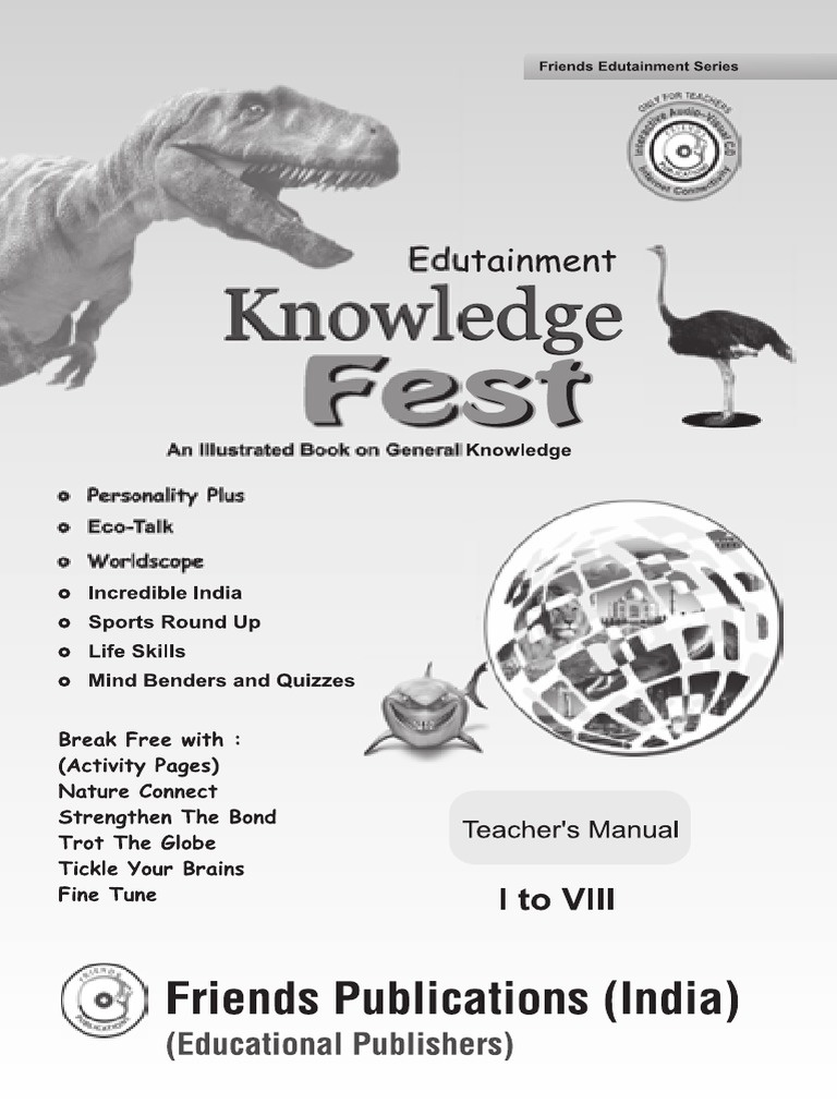 Knowledge Fest Key 1-8