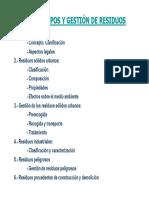 TEMA 6 Tipos y Gestión de Residuos 2014-2015