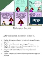 Effective Performance Appraisal