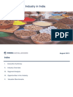 Www.dinodiacapital.com Admin Upload Food Processing Industry in India August 2013