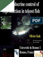 control endocrino de la reproduccion de peces teleosteos