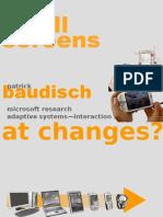 2008 Baudisch MobileHCI08 SmallScreensTutorial