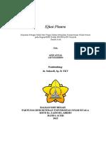 1. Cover Efusi Pleura
