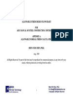 Allowable Stress Design Flowchart for AISC Manual for Steel Construction, 9th Edition