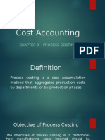 Chapter 8 - Process Costing