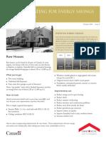 Renovating for Energy Savings - Case Studies
