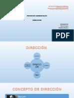 Exposicion Direccion