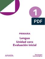 Evaluación inicial 1EP