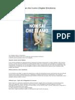 [ SCARICA ] Non Sai Che Ti Amo (Digital Emotions) PDF
