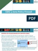 CBAC y Zone Policy Firewall