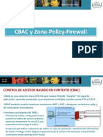 CBAC y Zone Policy Firewall