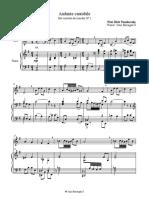 Andante Cantabile Score