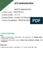 Lecture-1+2(Syllabus + Digital comm.) Deepak Sharma
