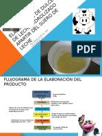 Elaboracion de Dulce de Leche Hidrolizado Apartir Del