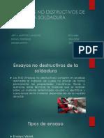 Presentacion de Fabricacion Ensayos No Destructivos