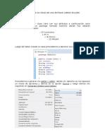 Manual de Un CRUD de Una Entidad Libros en Jdbc