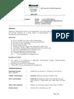Resume Prd
