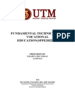 Fundamental Technical and Vocational Education
