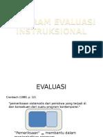 Program Evaliasi Instruksional Pak Saleh
