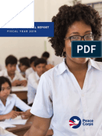 Peace Corps Agency Financial Report Fy16