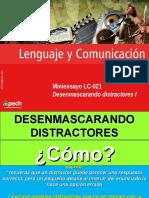 Clase 10 Desenmascarando distractores I (LC-021) 2016 CES.ppt